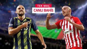 Fenerbahçenin konuğu Antalyaspor iddaada öne çıkan bahis...