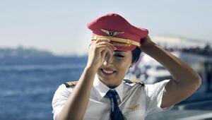 THY pilotu Bilge Derin, kanseri yendi, göklere yeniden döndü