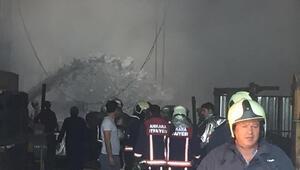 Son dakika:  Ankarada fabrikada korkutan yangın