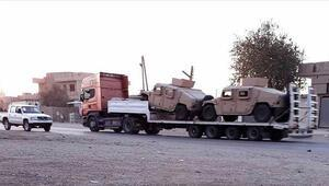 ABDden YPG/PKK sahasına bir haftada 300 TIR daha