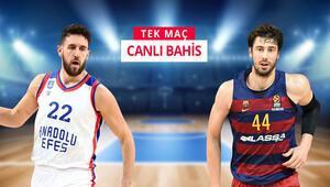 Anadolu Efes - Barcelona maçına iddaada ne oynamalı Tamer Oyguç yanıtladı...