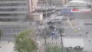 Irakta sokağa çıkma yasağına rağmen protestolar sürüyor