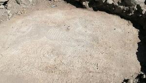 Şanlıurfa'da Roma dönemine ait mozaik ele geçirildi