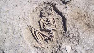 Arslantepede 5700 yıllık çocuk iskeleti bulundu