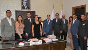 Adana Barosundan Ceyhan adli protokolüne ziyaret
