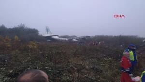 İspanyadan İstanbula giden kargo uçağıUkraynada düştü: 5 ölü