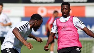 Beşiktaş, Alanyaspor hazırlıklarına başladı Diaby ve NKoudou çalışmada yer aldı...