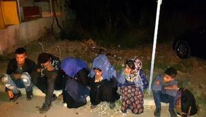 Kırıkhanda 6 düzensiz göçmen yakalandı