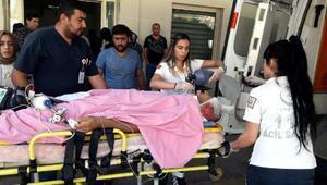 Çatıdan düşen işçi yaralandı