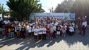 Çocuklardan, Aydın Büyükşehirin hayvan barınağına ziyaret