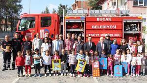 Belediye Başkanı öğrencileri ağırladı