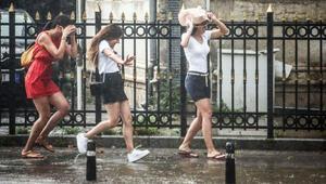 Yağış İstanbulun kapısına dayandı... Meteorolojiden çok sayıda kente uyarı
