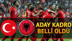 Türkiye Arnavutluk milli maçı ne zaman Şenol Güneş Milli Takımın aday kadrosunu açıkladı