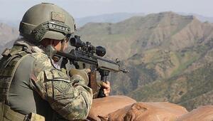 PKKya ağır darbe 2 terörist etkisiz hale getirildi