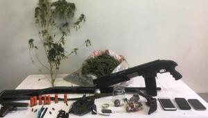 Balıkesirde uyuşturucu operasyonu: 4 gözaltı