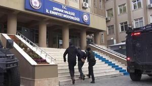 Şırnakta terör örgütü operasyonu: 14 gözaltı