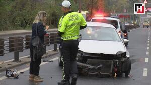 Sarıyerde zincirleme trafik kazası