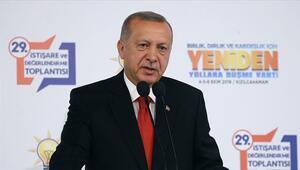 Son dakika... Cumhurbaşkanı Erdoğandan Fıratın doğusuna harekat mesajı: Belki bugün belki yarın kadar yakın