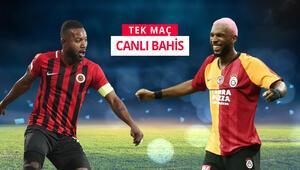 Galatasaray, başkentte 3 puan arıyor 3 eksiğe rağmen galibiyetlerine iddaada...