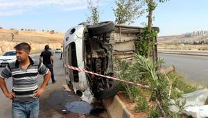 Gaziantepte piknik yolunda kaza: 5i çocuk 10 yaralı