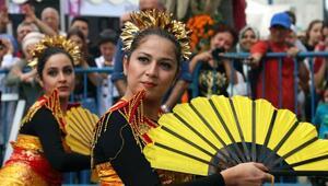 Lezzet Festivaline Endonezya halk dansları damga vurdu