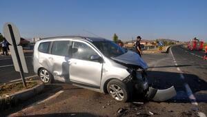 Bünyanda trafik kazası: 1'i bebek 6 yaralı