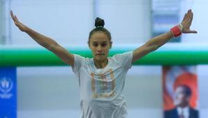 Cimnastikte ilk Tokyo kotası Nazlıdan