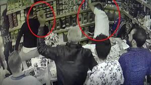 Veresiye vermeyen market sahibini böyle dövdüler