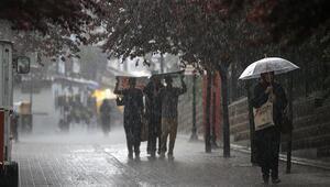 Meteorolojiden kuvvetli yağış uyarısı - Bugün hava nasıl olacak