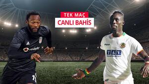 Beşiktaş, lider Alanyaspor karşısında çıkış arıyor iddaada maçın favorisi...
