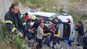 Sivasta otomobiller çarpıştı: 2 yaralı