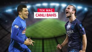 Rize ile Trabzon kozlarını paylaşıyor Kardeniz Derbisinde iddaanın favorisi...
