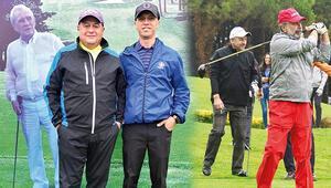 Golfte büyük heyecan