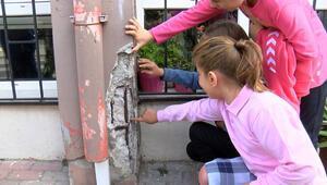Küçükçekmecede velilerden okul önünde eylem