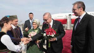 Cumhurbaşkanı Erdoğan Sırbistanda