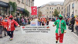 Hasat Bayramı'nda Türk folklorü damga vurdu
