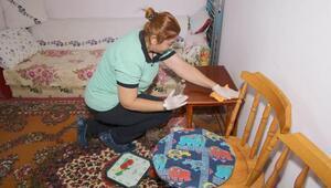 Çankayada Evde Temizlik Hizmetinden 571 ev yararlandı