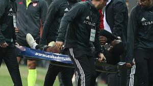 Son dakika: Beşiktaşta Nkoudou 1 ay yok