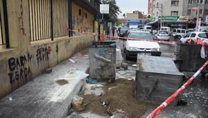 İzmirde, kimyasal madde yangını korkuttu