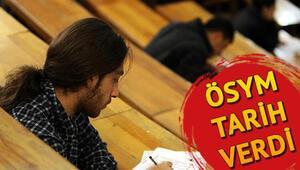YDS sınavı ne zaman İşte 2019 YDS/3 sınav ve başvuru tarihi