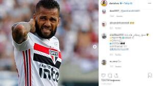 Dani Alves neye uğradığını şaşırdı