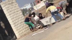Mardinde kaçak elektriği önleyen panoyu söktüler