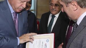 RİDEF heyeti Erdoğan ile bir araya geldi