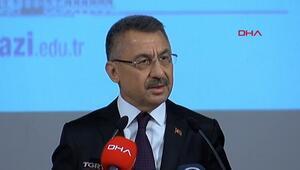 Cumhurbaşkanı Yardımcısı Fuat Oktaydan çarpıcı sözler: Mesajımız nettir