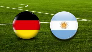 Almanya Arjantin maçı ne zaman saat kaçta hangi kanalda