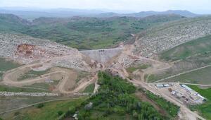 Bakan Pakdemirli açıkladı: Ergani Barajında su tutulmaya başlandı