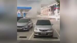 Taylandda korkutan hortum