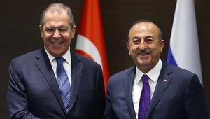 Son dakika... Çavuşoğlu ve Lavrovdan kritik görüşme