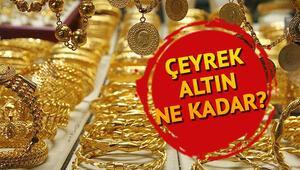 Çeyrek altın pazartesi gününü ne kadardan tamamladı 8 Ekim Kapalıçarşı güncel altın fiyatları