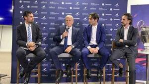 TFF heyeti, Londrada 2020 UEFA Şampiyonlar Ligi finalinin sunumunu yaptı